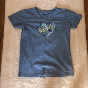 Life is good NWT women's t-shirt size small